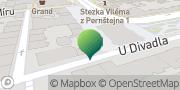 Map Pardubice I - úřad městského obvodu Pardubice, Czech Republic
