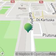Mapa Piekiełko Legnica, Polska