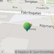 Karta Skogsstyrelsen Katrineholm, Sverige
