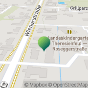 Karte Gemeindeamt d Marktgemeinde Theresienfeld Theresienfeld, Österreich