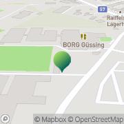 Karte BERUFLICHE INTEGRATION v RETTET DAS KIND-BGLD Güssing, Österreich