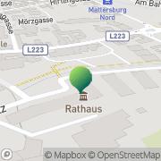 Karte Stadtgemeinde Mattersburg Mattersburg, Österreich