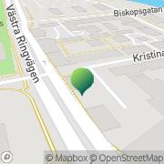 Karta Kvinnohuset, Föreningen Västerås, Sverige