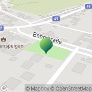Karte Marktgemeinde Jedenspeigen Jedenspeigen, Österreich