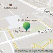 Karta Larmia Control AB Sollentuna, Sverige