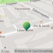 Karta Föräldraföreningen för Dyslektiska Barn Stockholm, Sverige