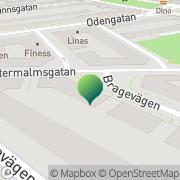 Karta Friman Ekologikonsult AB Stockholm, Sverige