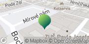 Map Město Hlučín - městský úřad Hlučín Hlučín, Czech Republic
