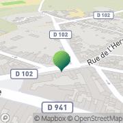 Carte de Mairie Vaulx, France