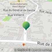 Carte de Mairie Montataire, France