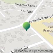Mapa Urząd Pocztowy Nowy Dwór Mazowiecki 1. Filia Nowy Dwór Mazowiecki, Polska