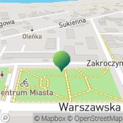 Mapa Urząd Miejski Nowy Dwór Mazowiecki, Polska