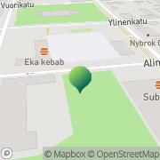 Kartta Uudenkaupungin kaupunginkirjasto Uusikaupunki, Suomi