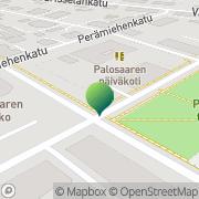 Kartta Vaasan kaupunginkirjasto Palosaari Vaasa, Suomi