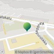 Kartta Pohjanmaan Eurooppatiedotus Vaasa, Suomi
