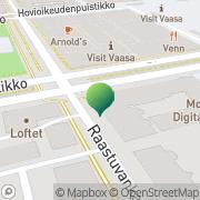 Kartta Vaasan kaupunki rakennusvalvontatoimisto Vaasa, Suomi