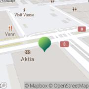 Kartta Vaasan kaupunki kasvatus- ja opetusvirasto Vaasa, Suomi