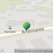 Kartta Karijoen kunta vapaa-aikatoimisto Karijoki, Suomi