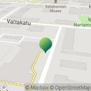 Kartta Porin kaupunki koulutusvirasto Pori, Suomi