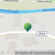 Kartta Noormarkun kunta sivistystoimisto Noormarkku, Suomi