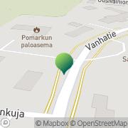 Kartta Pomarkun kunta vapaa-aikatoimisto Pomarkku, Suomi