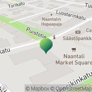 Kartta Naantalin kaupunki sivistystoimi Naantali, Suomi