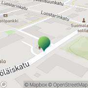 Kartta Naantalin kaupunki sosiaalitoimi Naantali, Suomi