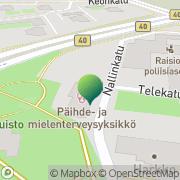 Kartta Raision kaupunki sivistysvirasto Raisio, Suomi