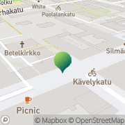 Kartta Turun kaupunki edunvalvonta Turku, Suomi