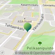 Kartta Daghemmet Kastanjen Turku, Suomi