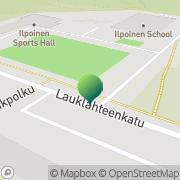 Kartta Turun kaupunginkirjasto Ilpoinen Turku, Suomi