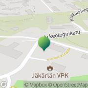 Kartta Turun kaupunginkirjasto Maaria Turku, Suomi