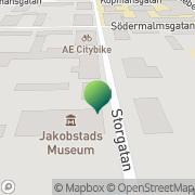 Kartta Pietarsaaren kaupunki kulttuuritoimisto Pietarsaari, Suomi