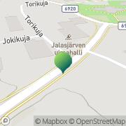 Kartta Kansaneläkelaitos Jalasjärven toimisto Jalasjärvi, Suomi