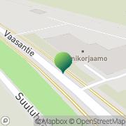 Kartta Pohjanmaan taidetoimikunta Seinäjoen toimipiste Seinäjoki, Suomi