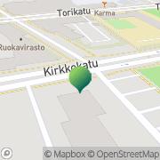 Kartta Liikkuva Poliisi Seinäjoen yksikkö Seinäjoki, Suomi