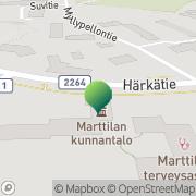 Kartta Marttilan kunta Marttila, Suomi