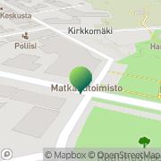Kartta Hangon kaupunki sosiaalivirasto Hanko, Suomi