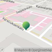 Kartta Loimaan kaupunki sosiaali- ja terveyspalvelukeskus Loimaa, Suomi