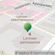 Kartta Forssa-Loimaan käräjäoikeus / Loimaan toimipiste Loimaa, Suomi