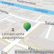 Kartta Loimaan kaupunki sosiaalitoimisto Loimaa, Suomi