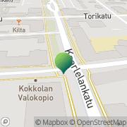 Kartta Kuluttajaneuvonta Kokkola Kokkola, Suomi