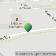 Kartta Evijärven kunta sosiaali-ja terveystoimi Evijärvi, Suomi