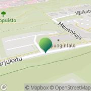 Kartta Nokian kaupunki rahatoimisto Nokia, Suomi