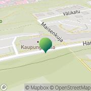 Kartta Nokian kaupunki rakennusvalvontatoimisto Nokia, Suomi