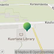 Kartta Kuortaneen kunta Kuortaneen kunnankirjasto Kuortane, Suomi