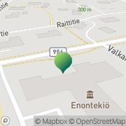 Kartta Enontekiön kunta koulutoimisto Enontekiö, Suomi