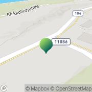 Kartta Karjalohjan kunta / Maaseutulautakunta Karjalohja, Suomi