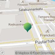 Kartta Tampereen kaupunki kaupunginkanslia viestintä Tampere, Suomi