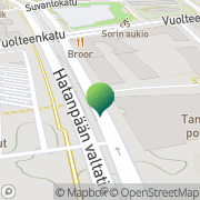 Kartta Liikkuva Poliisi Tampereen yksikkö Tampere, Suomi